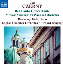 Czerny / Tuck / Engl - Bel Canto Concertante [New CD]
