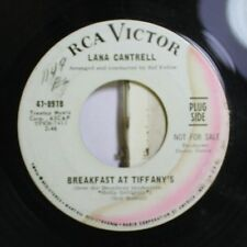 Pop 45 Lana Cantrell - Breakfast At Tiffany'S / Since I Fell For You On Rca Vict