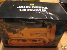 """1997 ERTL JOHN DEERE 430 CRAWLER """"NATIONAL TOY SHOW"""" NIB"""