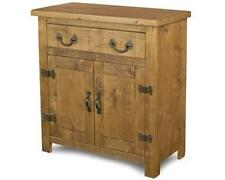 SOLID WOOD SIDEBOARD DRESSER BASE CABINET CUPBOARD RUSTIC PLANK PINE FURNITURE