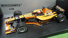 F1 ARROWS ORANGE A22 #15 BERNOLDI 1/18 MINICHAMPS 100010015 voiture miniatur
