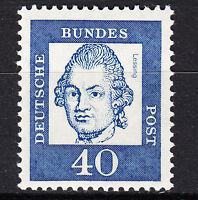 BRD 1961 64 Mi. Nr. 355 Y Fl.-Papier Postfrisch LUXUS!
