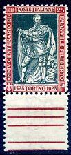 EMANUELE FILIBERTO 1928 - 25 CENT. D 11 NUOVO ** LUSSO