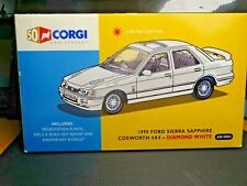 WOW EXTREMELY RARE 1/43 VANGUARDS FORD SIERRA SAPPHIRE COSWORTH DIAMOND WHITE