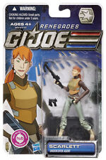 GI Joe Renegades Carded Scarlett