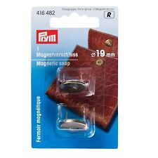 PRYM MAGNETIC SNAP, 19mm, ANTIQUE BRASS BUTTON,CLASP – BAG MAKING -  - 416482