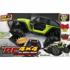 Boys 1:8 Radio Control 4x4 Jeep Trailcat Remote Control Play Vehicles Kids Toys