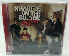New Kids On The Block Greatest Hits - New & Sealed CD **CASE CRACKED ON REAR**
