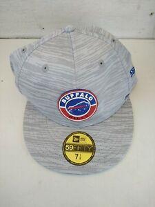 New Buffalo Bills NFL Football New Era 59Fifty Hat Cap Size 7 7/8 Authentic