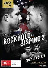 UFC #199 - Rockhold Vs Bisping 2 (DVD, 2016, 2-Disc Set) Region 4