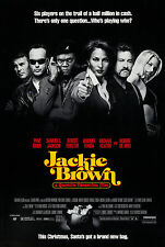 JACKIE BROWN (1997) ORIGINAL MOVIE POSTER  -   ROLLED