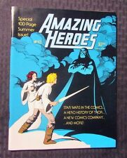 1982 AMAZING HEROES Magazine #13 VF- Star Wars Comics - Thor History
