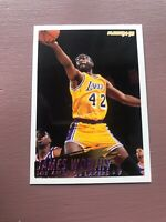 1994-95 Fleer Basketball Superstar: James Worthy