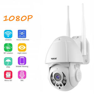 Wireless IP Speed Dome Camera Pan Tilt Wifi HD 1080P Outdoor Security camera