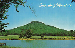 Postcard Sugarloaf Mountain Heber Springs Arkansas Posted 1975