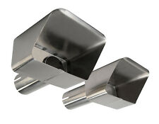 New Stainless Steel Exhaust Extension Tips (1970-1972 70 71 72 C3 Corvette)