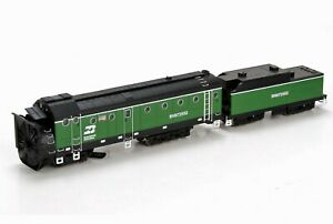 ATHEARN 93804 ROTARY SNOWPLOW AND TENDER BURLINGTON NORTHERN BN 97552