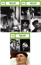 FICHE CINEMA x3 : MARCEL PERES DE 1935 A 1974 - France (Biographie/Filmographie)