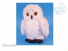 Snowy Owl Plush Soft Toy Bird by Dowman Soft Touch from Lincrafts. RB65