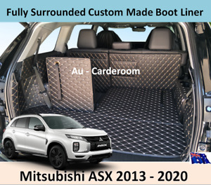 Mitsubishi ASX 2013 - 2020 Custom Made Trunk Boot Mats Liner Cargo Mat Cover