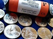 One Uncirculated 2005-P Cailifornia State Quarter From An Original US Mint Roll