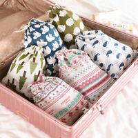 Portable Travel Drawstring Storage Bag Shoes Underwear Easy Organizer Bag New