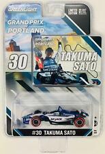 1:64 2018 Greenlight Takuma Sato #30  GP of Portland Winning  IndyCar Diecast