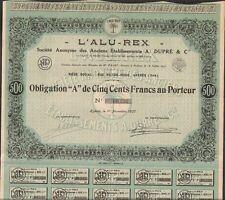 RARE => L'ALU-REX (HYÈRES 83) (S)