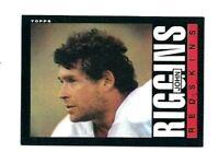 NMT 1985 Topps #189 John Riggins HOF.