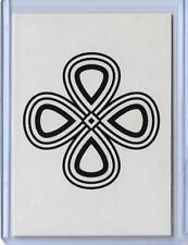 "RARE 2011 ALLEN & GINTER CODE PUZZLE CIPHER CARD #NNO ~ "" Q "" VERSION ~ L@@K!!!"
