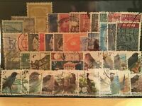 Belgium birds and mixed used  Stamps  ref R21389