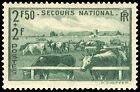 timbre france neuf ** YT : 469 de 1940