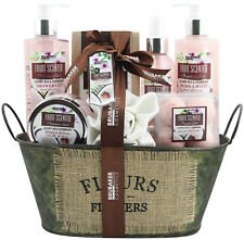 Damen Beauty Geschenkset Kokosmilch & Erdbeere 10-tlg Badeset Körperpflege Set