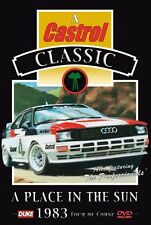 A Place in the Sun (New DVD) 1983 Tour Di Corse Rally Audi Lancia Mikkola Pond