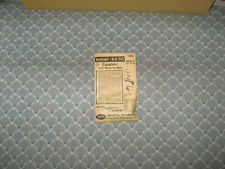 HO SCALE KADEE NO. MKD 8  PACKAGE OF COUPLERS! ONLY $ 4.00!