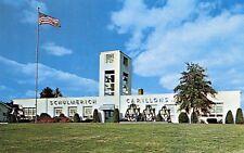 Schulmerich Carillons handbells chimes plant Sellersville Pennsylvania Postcard
