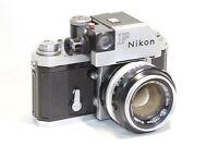AS IS Nikon F Photomic FTn SLR Film Camera Body NIKKOR-S Auto 50mm F/1.4 MF Lens
