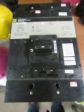 Square D Mhl366001685 600 Amp, 3 Pole, 600 Volt Circuit Breaker (Good Condition)