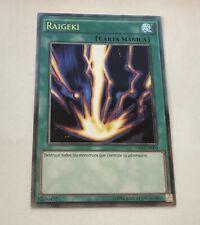 Yu-Gi-Oh! Spanish Raigeki OP02-SP003 Ultimate Rare LP