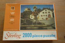 Vintage Tower Press FACTORY SEALED 2800 Piece Jigsaw Tarasp Switzerland