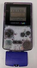 Nintendo Game Boy Advance in transparent lila/lila