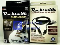 Rocksmith 2014 Edition Remastered + Extra Real Tone Cable - PC - Brand New