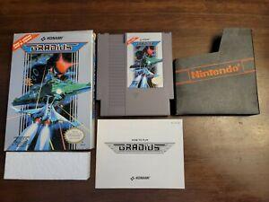 Gradius (Nintendo NES) Complete - Tested - Authentic