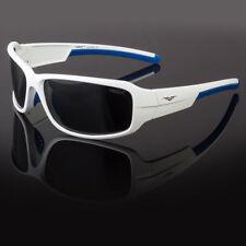 POLARIZED White VERTEX Mens Anti Glare Fishing Cycling Driving Sport Sunglasses