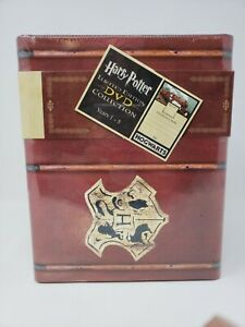 Rare SEALED Harry Potter Years 1-5 DVD 12-Disc Box Set NEW Game Card Trunk Chest