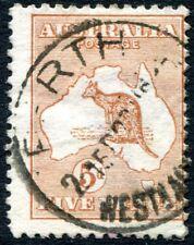 More details for australia-1913 5d chestnut sg 8  good used v27676