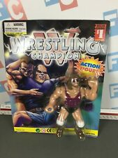 WWE Wrestling Hasbro Mannix International Wrestling Champions Adam Bomb Figure