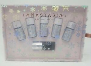 Anastasia Beverly Hills Loose Glitter Kit- 5pc + adhesive Limited Ed Winter Set