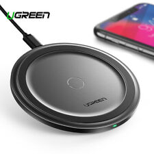 Ugreen 10W Qi Wireless Charger with 3 Charging Modes for iPhone Samsung Airpods