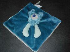 Doudou Plat Carré Bleu Vert Baba Le Koala Les Zazous Moulin Roty Com Neuf 3 Disp